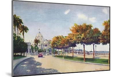 'The Beautiful Beira Mar Drive - approaching the Magnificent Monroe Palace', 1914-Unknown-Mounted Giclee Print