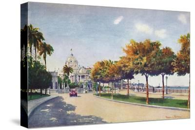 'The Beautiful Beira Mar Drive - approaching the Magnificent Monroe Palace', 1914-Unknown-Stretched Canvas Print