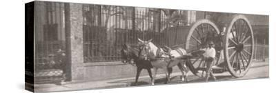 'Carrying heavy goods under instead of above the axle', 1914-Unknown-Stretched Canvas Print