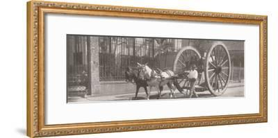 'Carrying heavy goods under instead of above the axle', 1914-Unknown-Framed Photographic Print