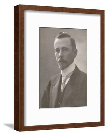 'H.E. Dr. Lauro Severiano Muller. Minister for Foreign Affairs', 1914-Unknown-Framed Photographic Print