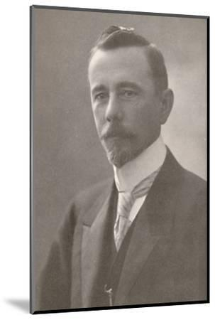 'H.E. Dr. Lauro Severiano Muller. Minister for Foreign Affairs', 1914-Unknown-Mounted Photographic Print