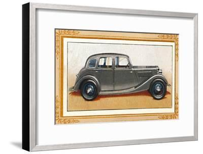 'Riley Eight-90 Adelphi Saloon', c1936-Unknown-Framed Giclee Print