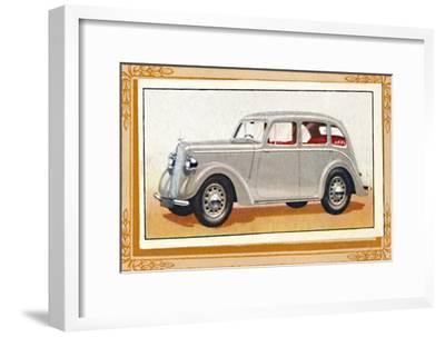 'Hillman Minx Saloon De Luxe', c1936-Unknown-Framed Giclee Print