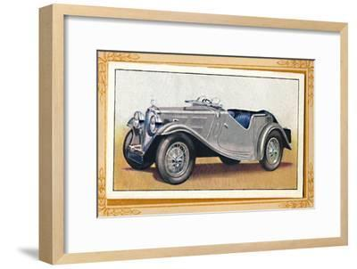 'Triumph-Gloria Southern Cross', c1936-Unknown-Framed Giclee Print