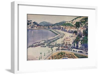 'The Praia da Lapa and Praca da Gloria', 1914-Unknown-Framed Giclee Print
