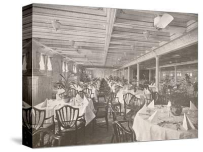 'A Royal Mail Dining Hall', 1914-Unknown-Stretched Canvas Print