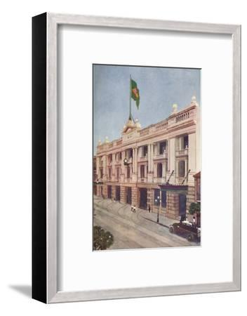 'Administration Offices of the Rio Tramway, Light and Power Company', 1914-Unknown-Framed Photographic Print