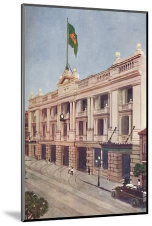 'Administration Offices of the Rio Tramway, Light and Power Company', 1914-Unknown-Mounted Photographic Print