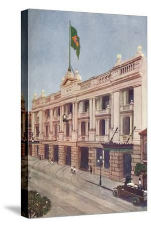 'Administration Offices of the Rio Tramway, Light and Power Company', 1914-Unknown-Stretched Canvas Print