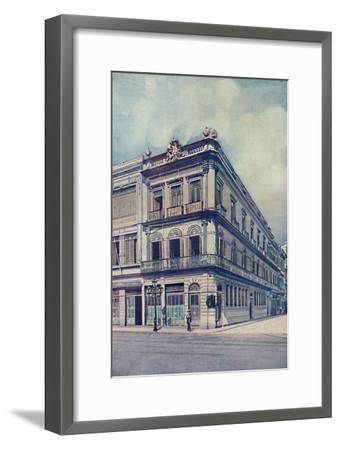 'The British Bank of South America, Limited', 1914-Unknown-Framed Giclee Print