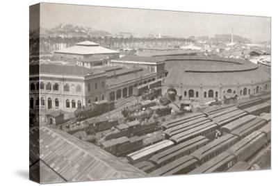 'The Rio de Janeiro Terminus of the Central Railway of Brazil', 1914-Unknown-Stretched Canvas Print