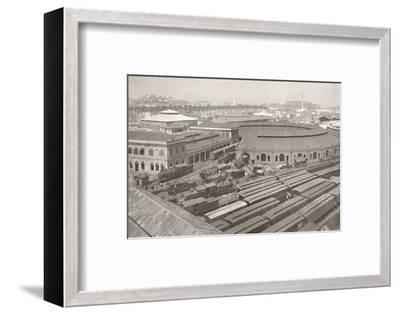 'The Rio de Janeiro Terminus of the Central Railway of Brazil', 1914-Unknown-Framed Photographic Print