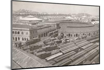 'The Rio de Janeiro Terminus of the Central Railway of Brazil', 1914-Unknown-Mounted Photographic Print