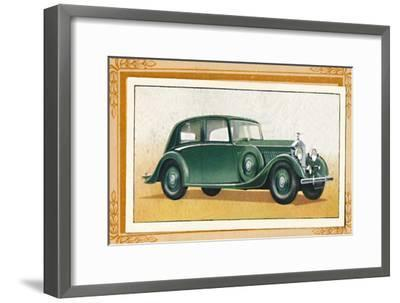 'Rolls-Royce 20-25 Saloon', c1936-Unknown-Framed Giclee Print