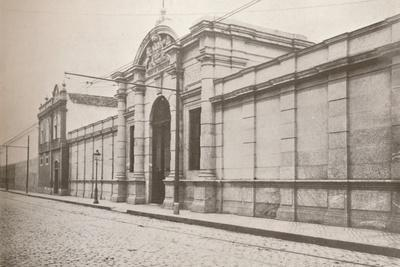 'Rio Police: Entrance to the House of Correction, 1914-Unknown-Framed Photographic Print