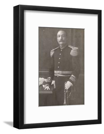 'General Bento Ribeiro. Prefect of Rio de Janeiro (1910-1914)', 1914-Unknown-Framed Photographic Print