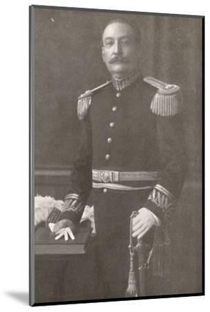 'General Bento Ribeiro. Prefect of Rio de Janeiro (1910-1914)', 1914-Unknown-Mounted Photographic Print