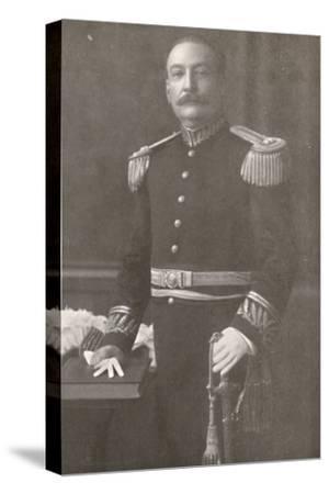 'General Bento Ribeiro. Prefect of Rio de Janeiro (1910-1914)', 1914-Unknown-Stretched Canvas Print