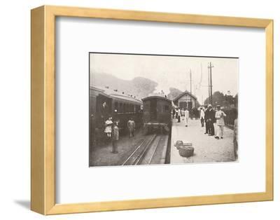 'Alto da Serra: Petropolis - Leopoldina Railway', 1914-Unknown-Framed Photographic Print