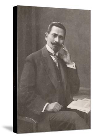 'Dr. Belisario da Silva Tavora. Recently Chief of Police of Rio de Janeiro', 1914-Unknown-Stretched Canvas Print