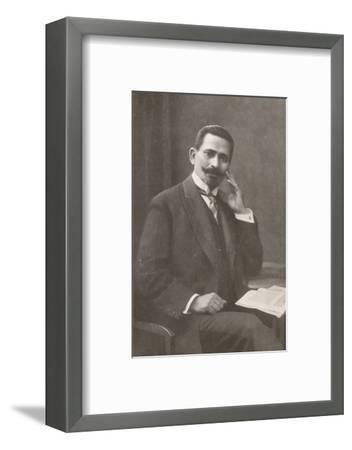 'Dr. Belisario da Silva Tavora. Recently Chief of Police of Rio de Janeiro', 1914-Unknown-Framed Photographic Print