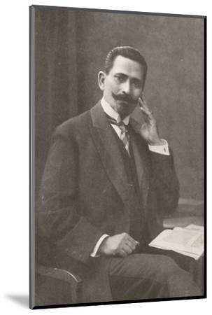 'Dr. Belisario da Silva Tavora. Recently Chief of Police of Rio de Janeiro', 1914-Unknown-Mounted Photographic Print