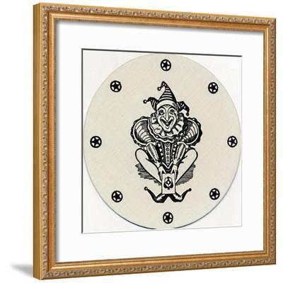 'Joker', c1929-Unknown-Framed Giclee Print