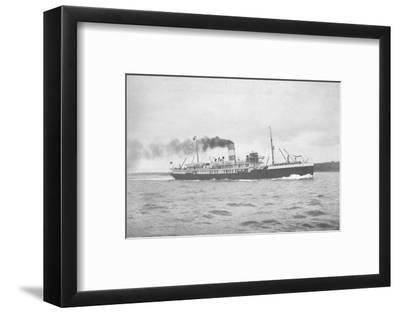 'The Brazilian Lloyd, SS Para., 1914-Unknown-Framed Photographic Print