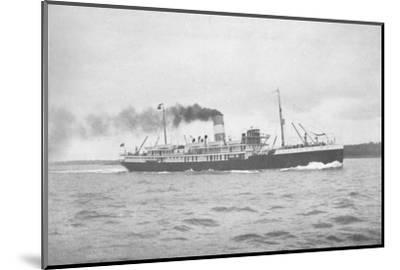 'The Brazilian Lloyd, SS Para., 1914-Unknown-Mounted Photographic Print
