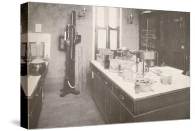 'Examination Laboratory of the Medico-Legal Service', 1914-Unknown-Stretched Canvas Print