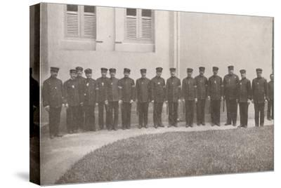 'Some smart Rio Policemen', 1914-Unknown-Stretched Canvas Print