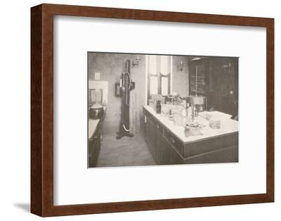 'Examination Laboratory of the Medico-Legal Service', 1914-Unknown-Framed Photographic Print