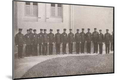 'Some smart Rio Policemen', 1914-Unknown-Mounted Photographic Print