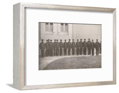 'Some smart Rio Policemen', 1914-Unknown-Framed Photographic Print