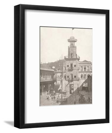 'The Fire Brigade Head-quartes', 1914-Unknown-Framed Photographic Print