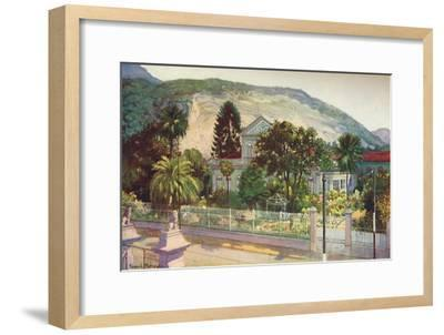'Residence of Senator Ruy Barboza, Rua Sao Clemente', 1914-Unknown-Framed Giclee Print