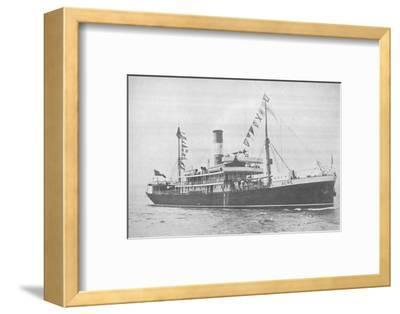 'The Brazilian Lloyd s.s. Acre., 1914-Unknown-Framed Photographic Print