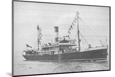 'The Brazilian Lloyd s.s. Acre., 1914-Unknown-Mounted Photographic Print