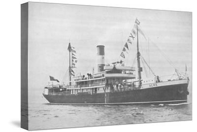 'The Brazilian Lloyd s.s. Acre., 1914-Unknown-Stretched Canvas Print