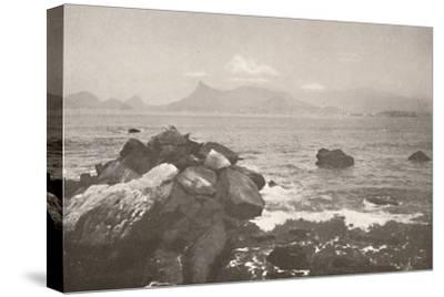 'The peaceful bay of Rio', 1914-Unknown-Stretched Canvas Print