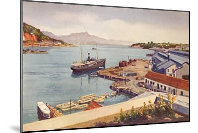 'Workshops of the Lloyd Brasileiro Steamship Company', 1914-Unknown-Mounted Giclee Print