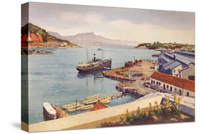 'Workshops of the Lloyd Brasileiro Steamship Company', 1914-Unknown-Stretched Canvas Print