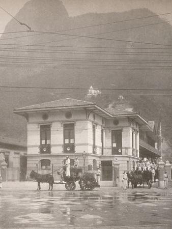 'The Humaita District Fire Station', 1914-Unknown-Framed Photographic Print