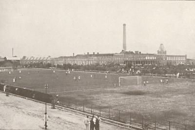 'The Bangu Football Grounds: Central Railway', 1914-Unknown-Framed Photographic Print
