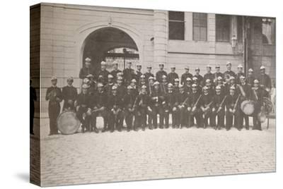 'The Band of the Rio Fire Brigade', 1914-Unknown-Stretched Canvas Print