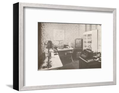 'Police Bacteriological Laboratory', 1914-Unknown-Framed Photographic Print