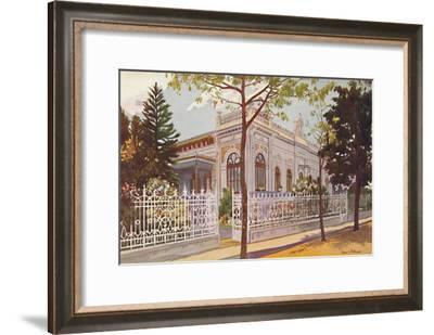 Vilino Nair, Residence of Admiral Baron de Teffé von Hoonholtz, Petropolis, 1914-Edgar L Pattison-Framed Giclee Print