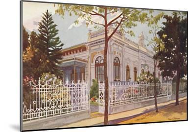 Vilino Nair, Residence of Admiral Baron de Teffé von Hoonholtz, Petropolis, 1914-Edgar L Pattison-Mounted Giclee Print