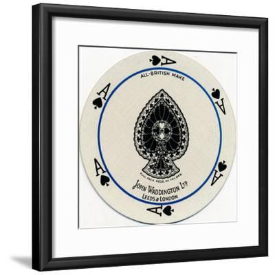 'Ace of Spades', c1929-Unknown-Framed Giclee Print